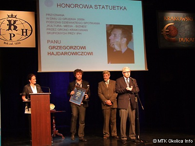 Krakowskie Dukaty 2010 rozdane